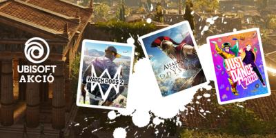 PlatinumShop – Áprilisi Ubisoft Akció