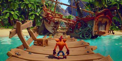 Crash Bandicoot 4: It's About Time – játékmenet egy kalózos pályáról