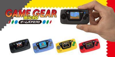 Game Gear Micro – mini-kézikonzol a nosztalgia szerelmeseinek