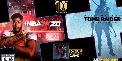 PlayStation Plus – NBA, Erica és Tomb Raider júliusban