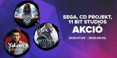 PlatinumShop – SEGA, 11 bit studios és CD Projekt akció