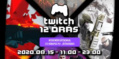 PlayStation.Community – 12 órás Twitch-maraton, ahol 12 hónapos PS Plus előfizetést nyerhetsz