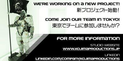 Kojima Productions – készül a mesterék új projektje