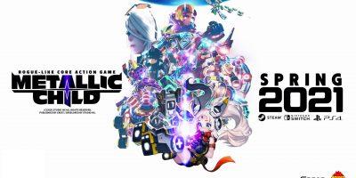 Metallic Child – roguelike akciójáték tavasszal