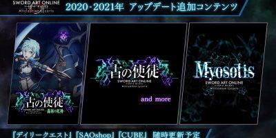 Sword Art Online: Alicization Lycoris – ingyenes frissítések érkeznek, lesz új DLC, játszható eredeti hősnők
