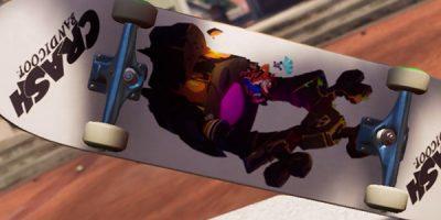 Tony Hawk's Pro Skater 1 + 2 – Crash Bandicoot témájú cuccok az új frissítésben