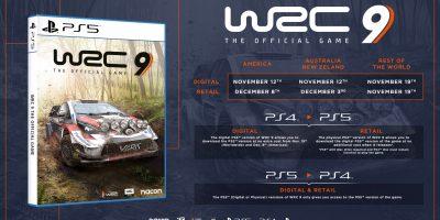 WRC 9 – a PS5-tel érkezik a next-gen verzió