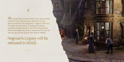 Hogwarts Legacy – jövőre csúszik