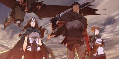 DOTA: Dragon's Blood – anime Davion karakterről