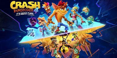 Crash Bandicoot 4: It's About Time – március közepén PS5-re is megjelenik