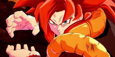 Dragon Ball FighterZ – Gogeta (SS4) péntektől szedhető