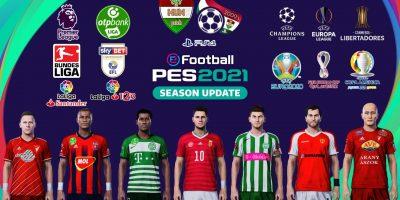 eFootball PES 2021 – PESHUNpatch hiánypótló