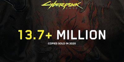 Cyberpunk 2077 – 13,7 millió példány fogyott 2020-ban