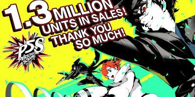 Persona 5 Strikers – túl az 1,3 millión