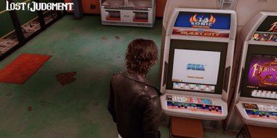 Lost Judgment – a játéktermekben a Sonic the Fighterst is lehet nyomni