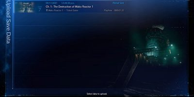 Final Fantasy VII Remake – már feltöltheted a mentésed az Intergrade-hez
