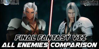 Final Fantasy VII Remake – összehasonlító videó az összes ellenségről