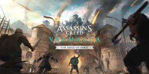 Assassin's Creed Valhalla – The Siege of Paris kiegészítő (PS5, PS4, PSN)