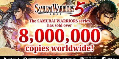 Samurai Warriors – túl a 8 millión